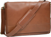 Royce Leather Messenger Bag 687-3
