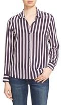 Equipment Women's 'Leema' Stripe Silk Shirt
