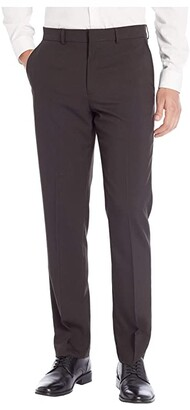 Dockers Slim Fit Dress Pant w/ Stretch Waistband (Black) Men's Dress Pants