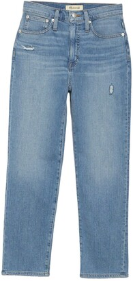 Madewell Classic Ankle Crop Straight Jeans