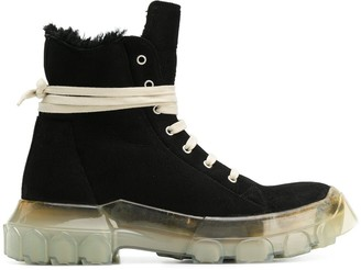 Rick Owens chunky sole boots