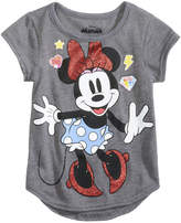 Disney Disney's Happy Minnie T-Shirt, Little Girls