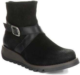 Fly London Women's Casual boots 026 - Black Sake Ankle Boot - Women