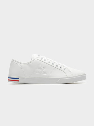 Le Coq Sportif Mens Verdon Premium Sneakers in Optical White