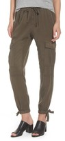 Pam & Gela Women's Ankle Tie Tencel Pants