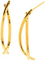 Gorjana Felix Half Hoop Earrings