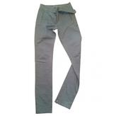 Isabel Marant Khaki Cotton Trousers