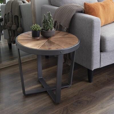 Mercury Row Aldiana Cross Legs End Table Shopstyle