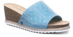 BearPaw Women's Evian Wedge Sandals Women's Shoes
