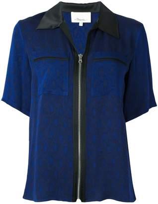 3.1 Phillip Lim zipped short sleeve shirt