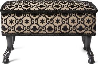 Gucci GG jacquard stool