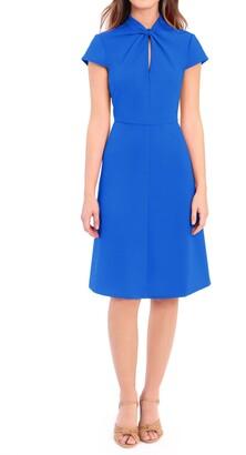 Donna Morgan Twist Knot Fit & Flare Dress