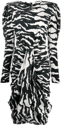 Isabel Marant Frera zebra print dress
