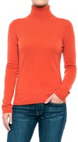 In Cashmere Cashmere Turtleneck - Long Sleeve (For Women)