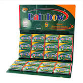 Rainbow Stainless Double Edge Blades by 100 Blades)