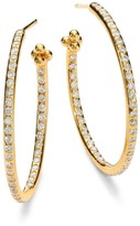 Temple St. Clair Classic Diamond & 18K Yellow Gold Hoop Earrings/1.2""