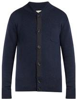 Oliver Spencer Milano Grosgrain-detail Merino-wool Sweater