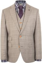Gibson Check Notch Collar Tailored Fit Jacket