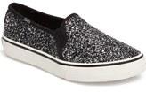 Keds Double Decker Glitter Slip-On Sneaker (Women)