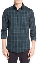 Ben Sherman Men's Trim Fit Gingham Woven Shirt