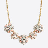 J.Crew Factory Gemstone garden fiesta necklace