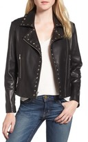 Parker Women's Easton Studded Leather Moto Jacket