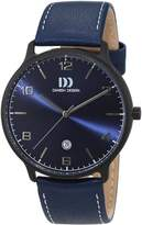 Danish Design men's Quartz Watch Analogue Display and Leather Strap