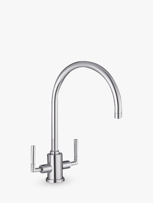 Blanco Eye BM5300 2 Lever Kitchen Mixer Tap, Chrome