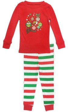 Matching Baby Girls The Grinch Two Piece Pajamas, Online Only