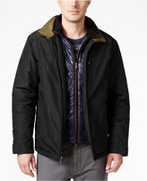 Weatherproof Men's Bomber Jacket with Attached Bib