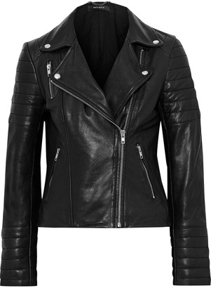 Muu Baa Muubaa Cordata Quilted Leather Biker Jacket