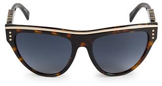 Moschino 56MM Aviator Sunglasses