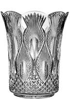 """Waterford Peacock 12"""" Vase"""