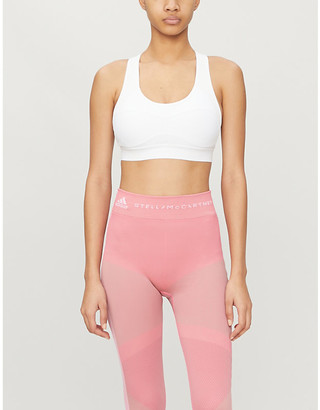 adidas by Stella McCartney Essential stretch-recycled polyester sports bra