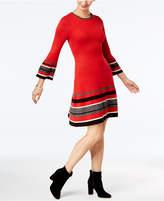 Jessica Howard Bell-Sleeve Sweater Dress, Regular & Petite Sizes