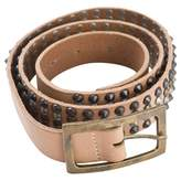 Zadig & Voltaire Beige Leather Belt