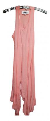 Maison Margiela Pink Viscose Dresses