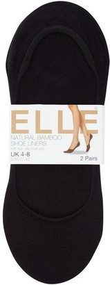 Elle Bamboo 2 Per Pack Shoe Liners