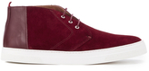 Oliver Spencer Beat Chukka Boots Burgundy Suede