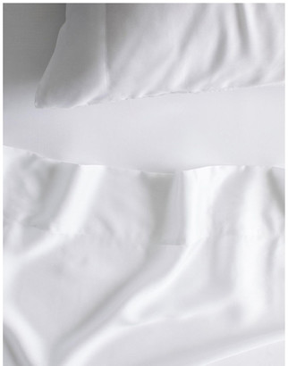Sheridan Tencel X Refibra Technology King Sheet Set in White White Queen
