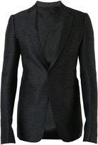 Rick Owens one button blazer - men - Cotton - 46
