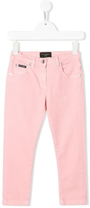 Dolce & Gabbana Kids Slim-Fit Jeans