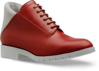 Freakloset - Ankle Boot Berry - 36 - Red/Grey