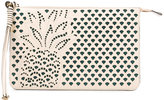 Chloé Hey clutch bag - women - Cotton/Polyester/Calf Suede - One Size