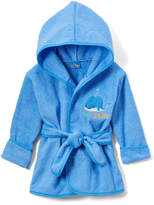 Sweet & Soft Blue 'Lil' Squirt' Terry Cloth Robe - Infant