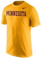 Nike Men's Minnesota Golden Gophers Wordmark Tee