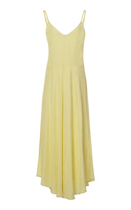 Vince Double-Layer Crepe Dress