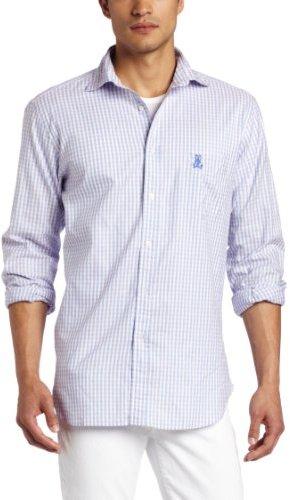 Psycho Bunny Men's 2 Color Check Shirt