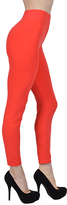 Orange High-Waist Leggings