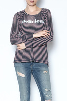 Sundry Striped Delicieux Top